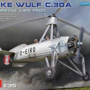 Focke-Wulf FW C.30A Heuschrecke - Late Production