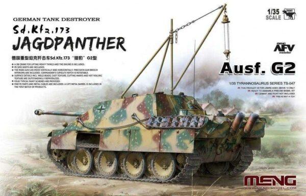 German Tank Destroyer Sd.Kfz.173 Jagdpanther Ausf. G2