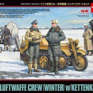 Dt. Fig.-Set Luftwaffe (5) Winter mit Kettenkrad