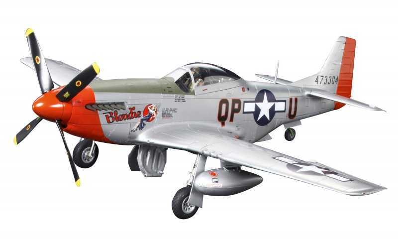 WWII North American P-51D Mustang