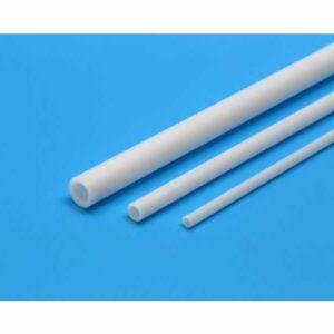 Rohrprofil 5mm (5) 400mm weiß - Kunststoff