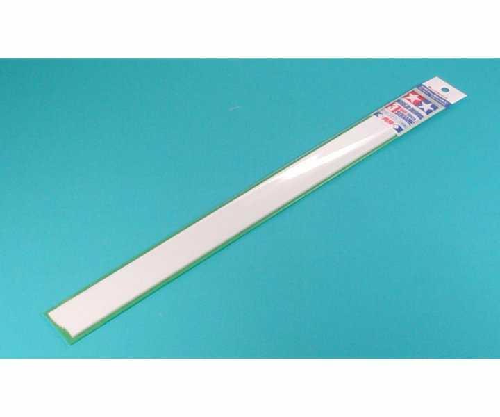 Vierkantprofil 3x3mm (10) 400mm weiß – Kunststoff