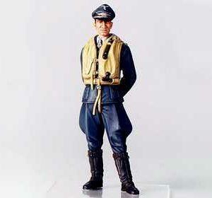 WWII Figur Dt.Luftwaffe Flieger-Ass