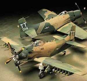 WWII Douglas A-1J Skyrider USAF