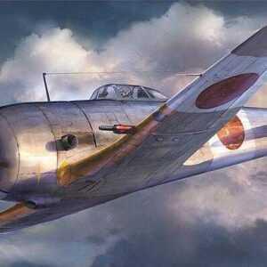 Nakajima Ki44-II Otsu Shoki mit 40mm Kanone