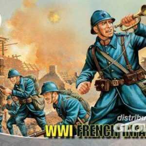WW.1 FRENCH INFANTRY