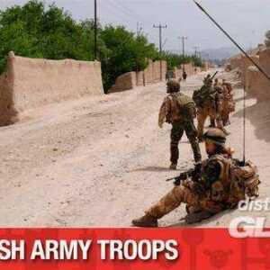 British Army Troops