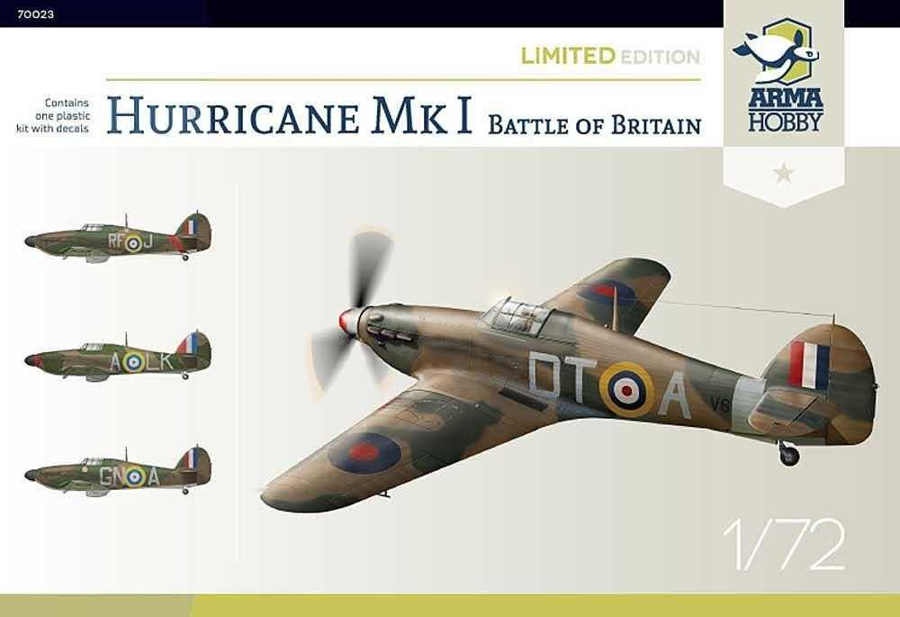 Hurricane Mk I – Battle of Britain – Limited Edition