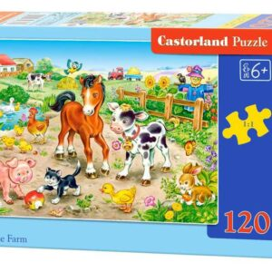 On the Farm - Puzzle - 120 Teile