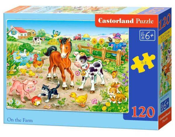 On the Farm - Puzzle - 120 Teile