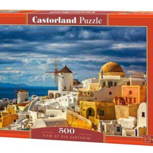 View of Oia Santorini - Puzzle - 500 Teile