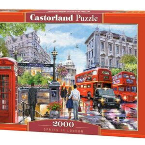 Spring in London - Puzzle - 2000 Teile