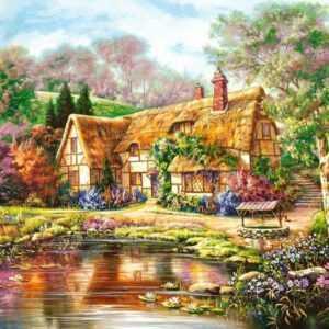 Twilight at Woodgreen Pond