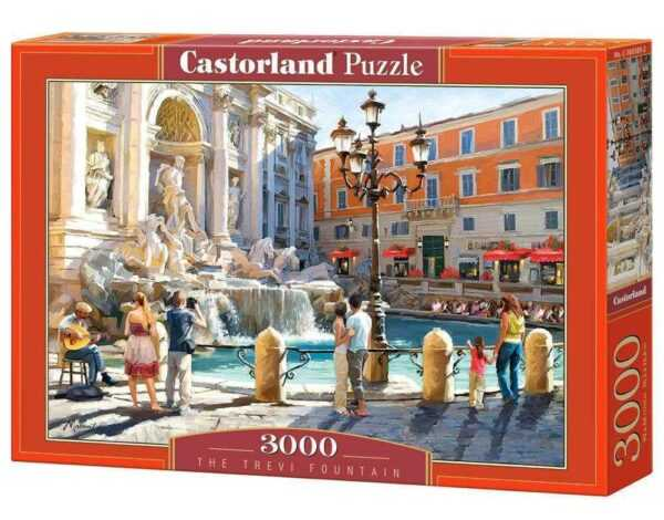 The Trevi Fountain - Puzzle - 3000 Teile