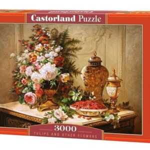 Tulips and other Flowers - Puzzle - 3000 Teile