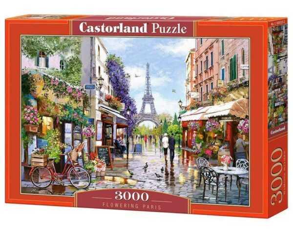 Flowering Paris - Puzzle - 3000 Teile