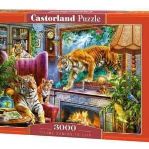 Tigers Coming to Life - Puzzle - 3000 Teile