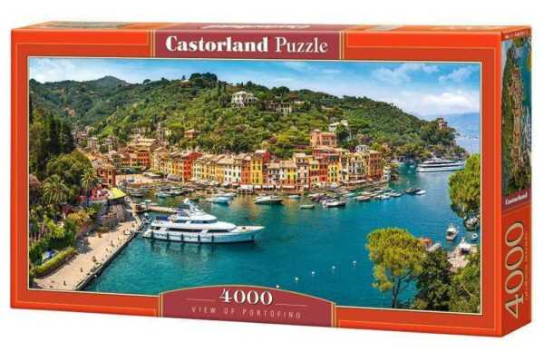 View of Portofino - Puzzle - 4000 Teile