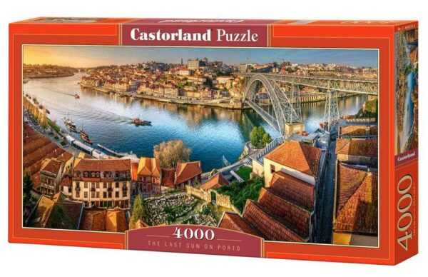 The last sun on Porto - Puzzle - 4000 Teile