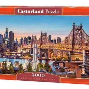 Good Evening New York - Puzzle - 4000 Teile