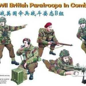 WWII British Paratroops in Combat Set B