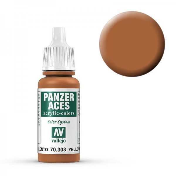 Panzer Aces 303 Yellowish Rust 17 ml