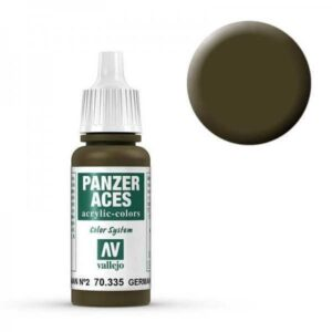 Panzer Aces 035 German Tankcrew II (Feldgrau) 17 ml