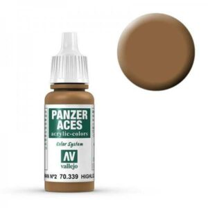 Panzer Aces 039 Highlight German II (Feldgrau) 17 ml