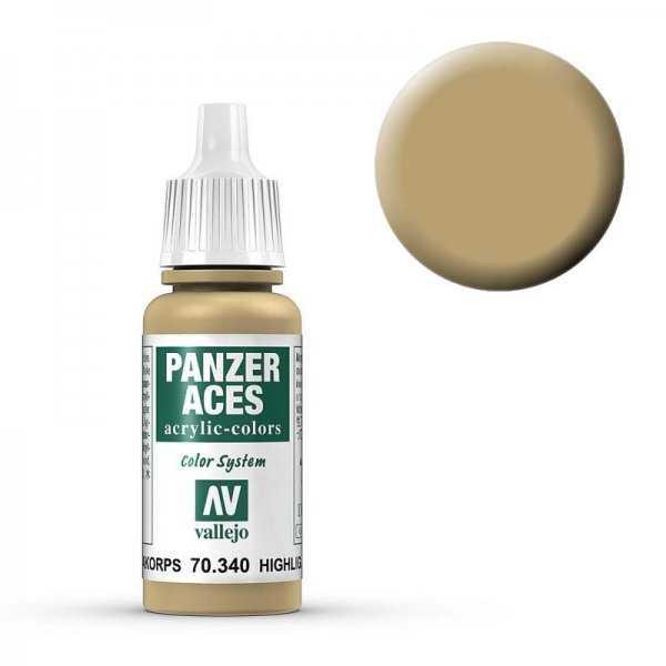 Panzer Aces 040 Highlight Afrikakorps 17 ml