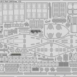 German Submarine Type IX C  (U67/U154) - Part 1[Revell]