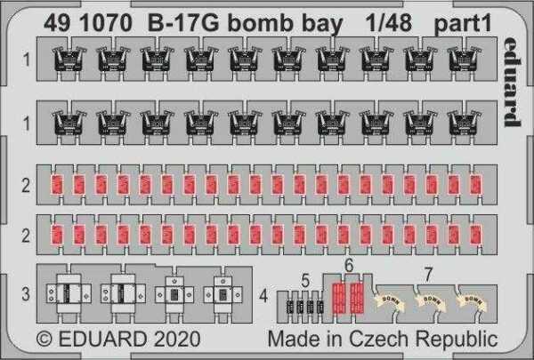 B-17G - Bomb bay [HKM]