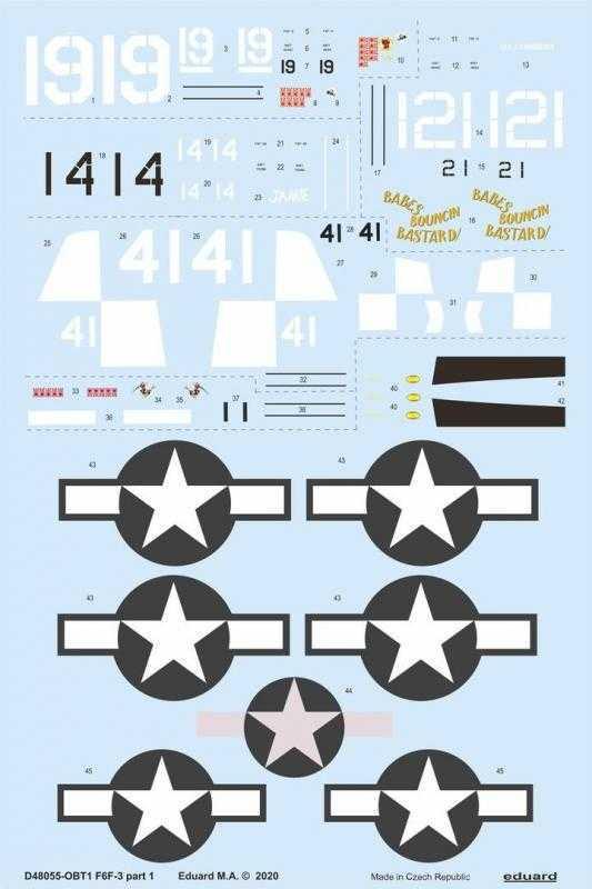 F6F-3 - Part 1 [Eduard]