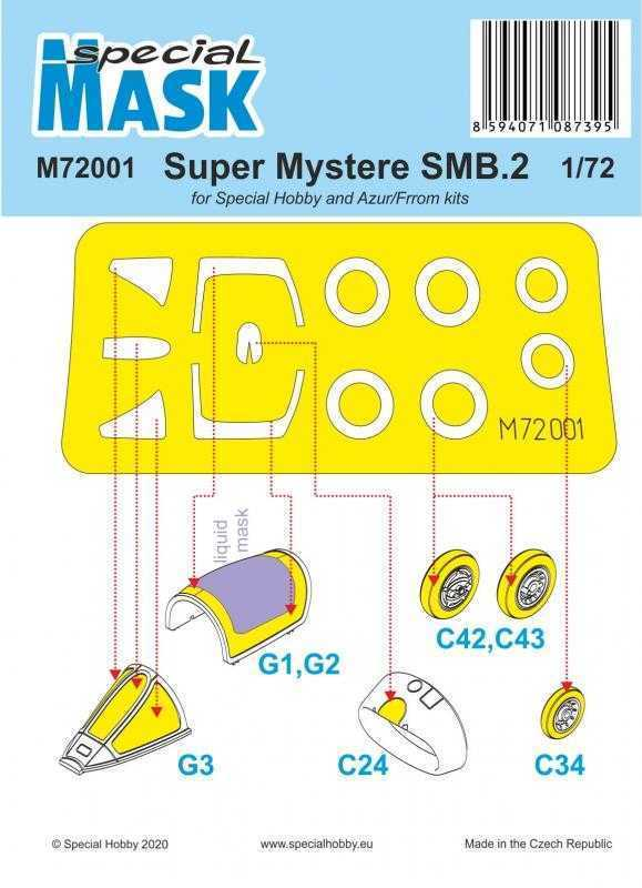 SMB-2 Super Mystere - Mask