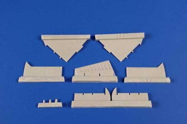 A-4B/Q Skyhawk - Control Surfaces