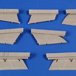 Supermarine Swift - Control Surfaces
