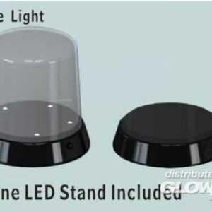 Roundtpo Display case-Led stand(Ø84x115