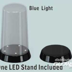 Round top Display case-Led stand (84x185mm)