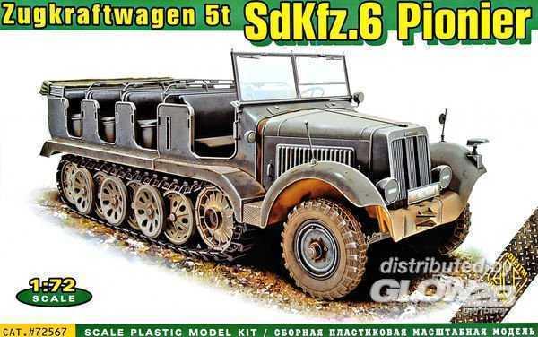 SdKFZ.6 Pionier - Zugkraftwagen 5t