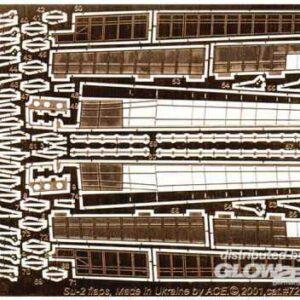PE-Set (flaps) for Su-2 (ICM) für ICM Bausatz