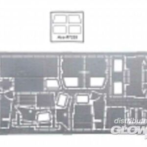 Photo-etched set Ural 4320 Add-On Armor (Chechen war type)