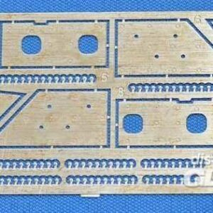 BTR-70 Add-on armor - Photo-etched set