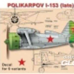 Polikarpov I-153 Chaika (late)