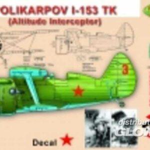 Polikarpov I-153 TK (altitude interceptor)
