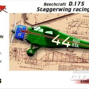 Beechcraft D.17S Staggerwing racing