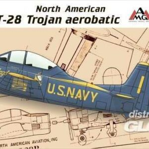 North American T-28 Trojan aerobatic