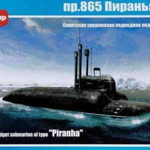 Soviet midget submarine pr.865 Piranha