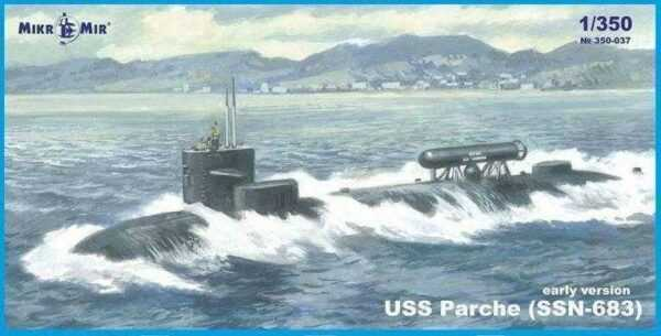 SSN-683 Parche (early version) submarine