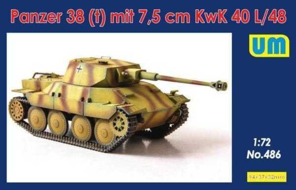 Panzer 38(t) mit 7.5cm KwK 40L/48