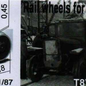 Rail wheels for ZiS-5