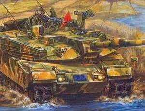 ROK Armx K1A1 Main Battle Tank
